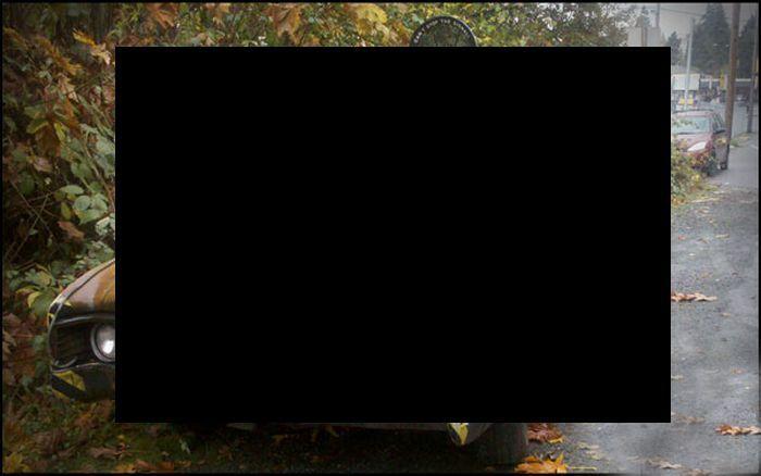 Своеобразный тюнинг пикапчика (5 фото)