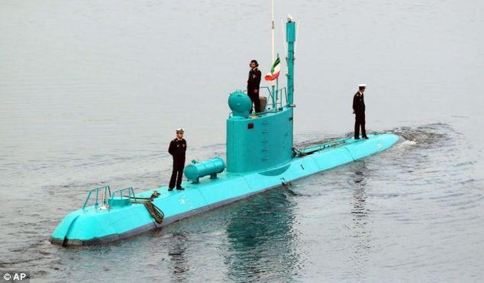 иран, вмс, флот, подводная лодка, атомная лодка, учения