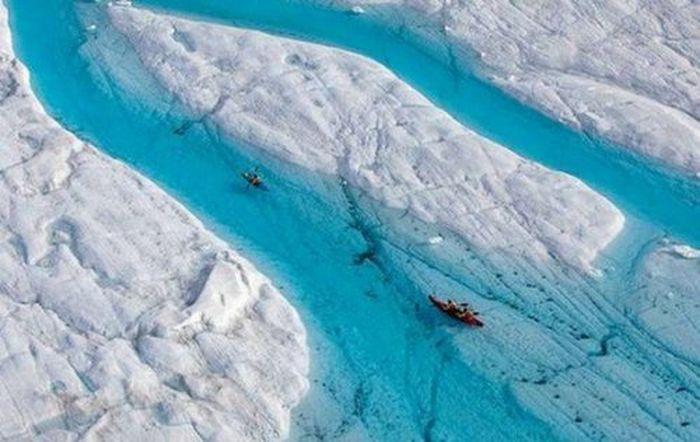 лед, ледяной мир, айсберг, зима, снег
