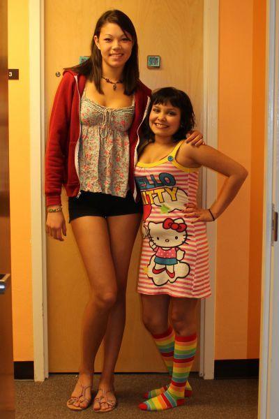 Прекрасные фото высокая девушка