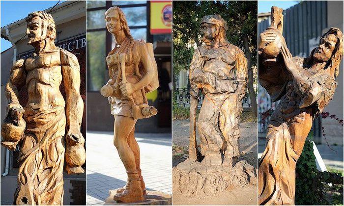 симферополь, скульптура, мастер, резьба по дереву