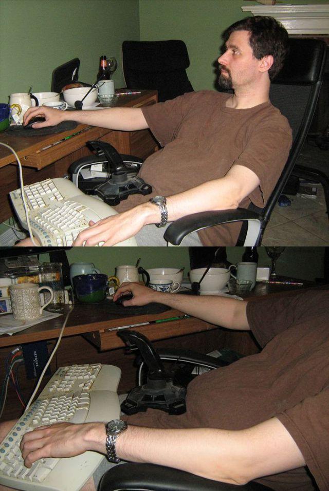 Бесплатно фото геймер, прикол