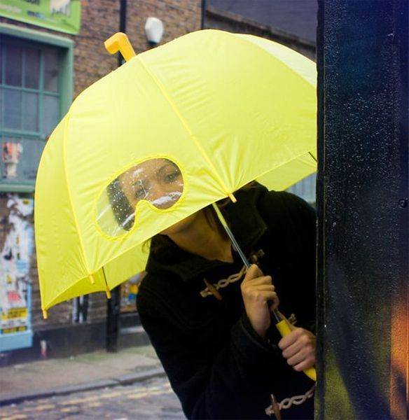 Фото прикол глаза, дизайн, зонтик