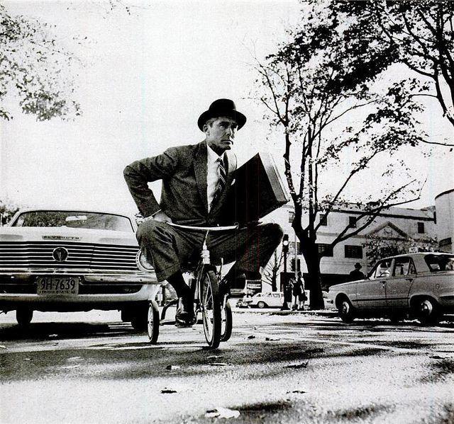 Зачетное фото велосипед, мужик, ретро