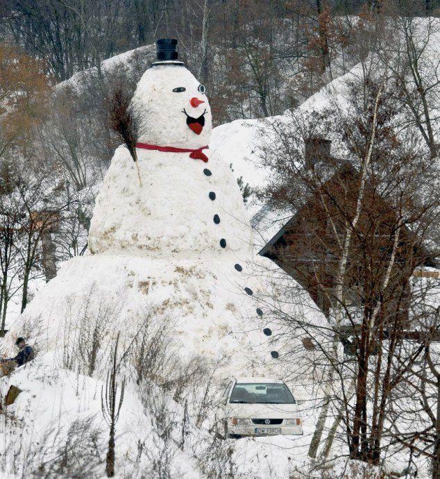 Фанни фото снеговик