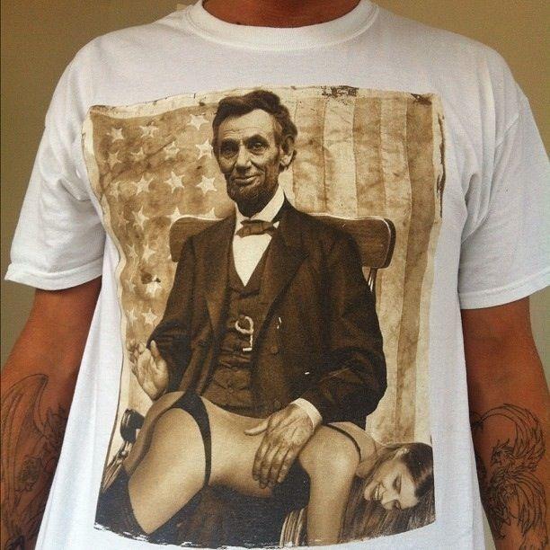 Зачетное фото девушка, линкольн, принт, футболка