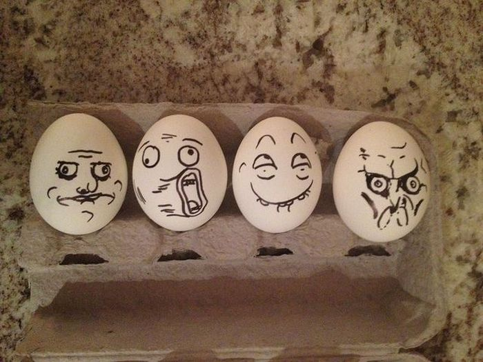 Фотоприкол дня lol, яйца