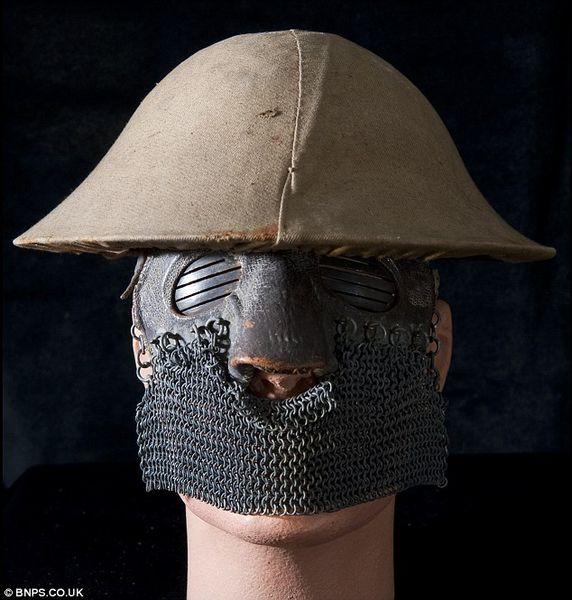 маска, война, британские войска, защитная маска