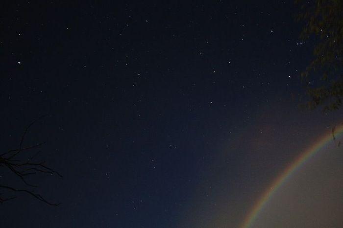 лунная радуга, луна, природа