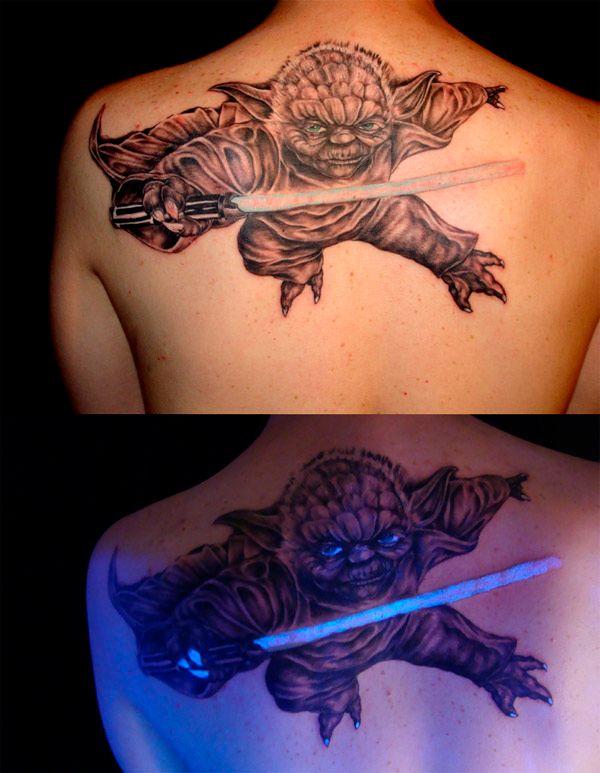 Смешные рисунки звездные войны, йода, татуировка