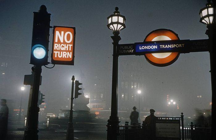лондон, смог, апокалипсис, туман