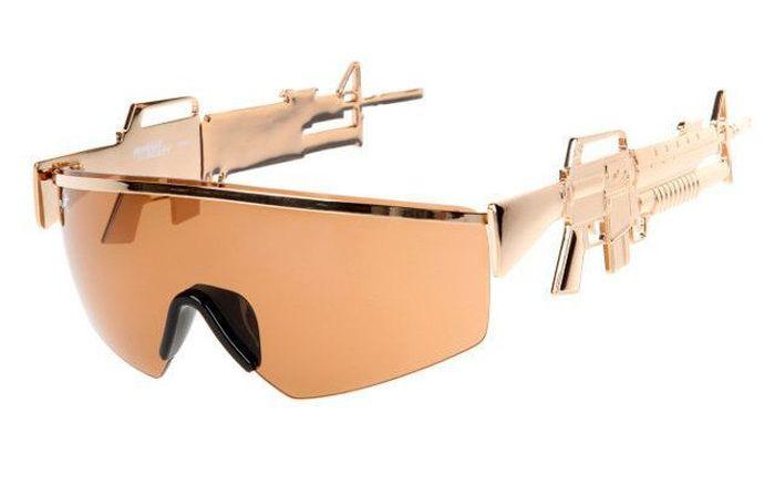 Прикольные фото винтовка, дизайн, очки, солнцезащитные очки