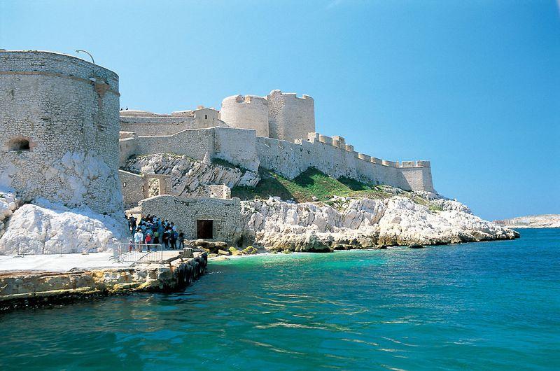 замок иф, морской форт, крепость