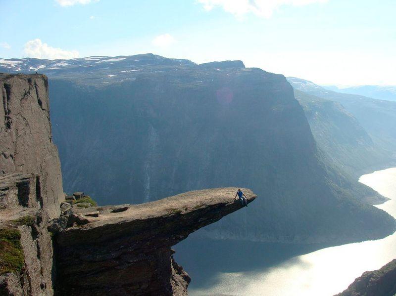 Шикарное фото выступ, горы, красота природы, обрыв, пейзаж