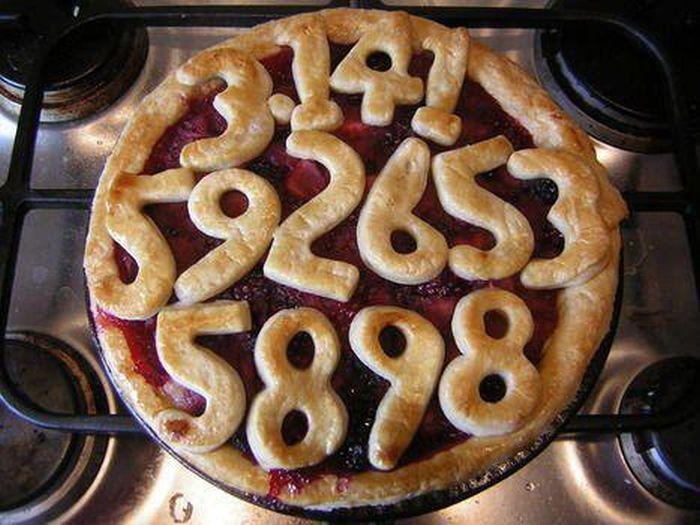 Юмор выпечка, пирог, пирожок, число пи