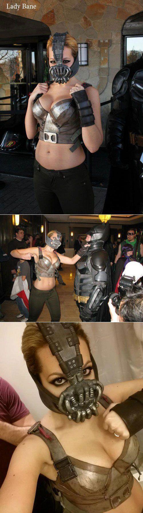 Отпадные фотки бэтмен, косплееры, косплей, костюмы, красивая девушка