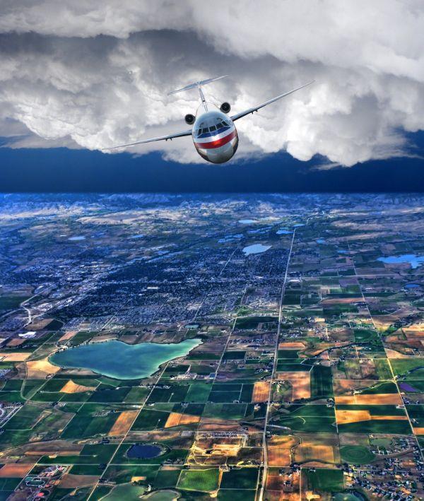 Отпадные фотки вид сверху, красота природы, с воздуха, самолет