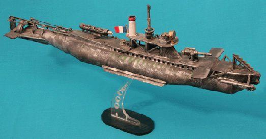 Модель подводных лодок своими руками