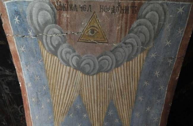 фреска, румыния, конец света,