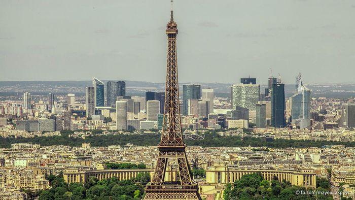 город, париж, серия, столица, франция