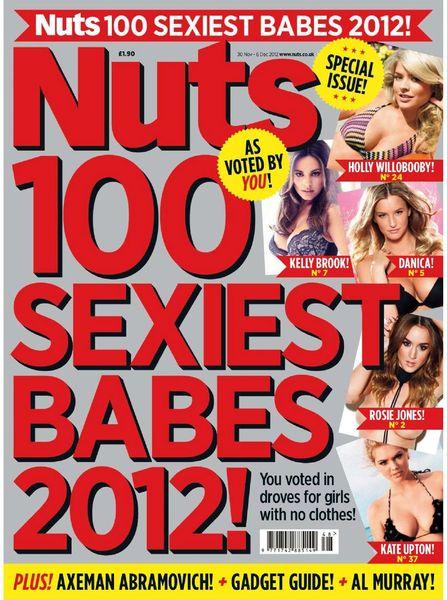 топ 100, самые сексуальные, журнал nuts, рейтинг