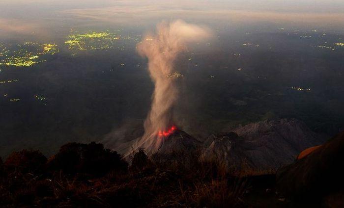 вулкан, извержение вулкана