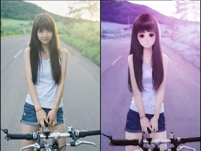 Самые красивые персонажи девушки из аниме