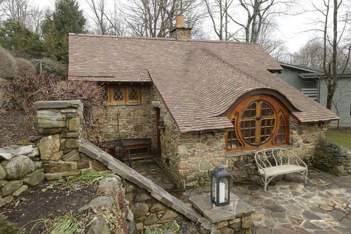 дом хоббита, архитектор, частный дом
