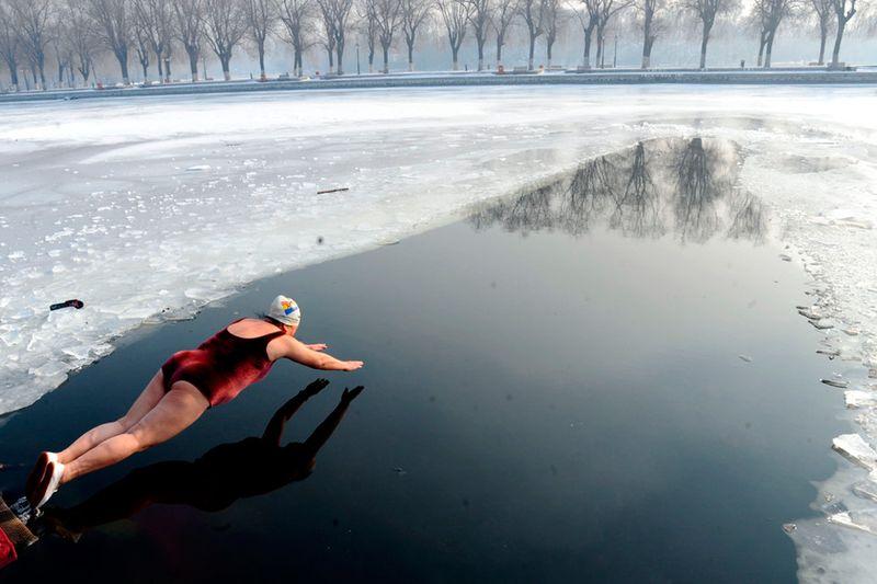 Прекрасные фото закалка, зима, моржевание, мороз, холод
