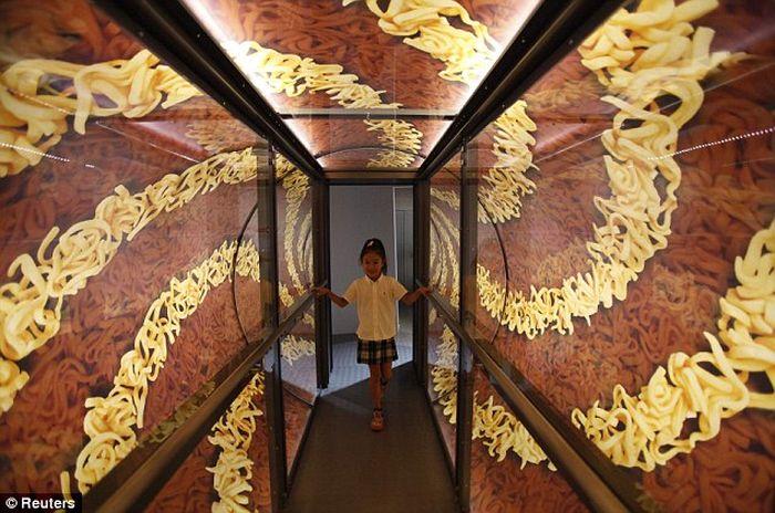 лапша, музей, токио, япония