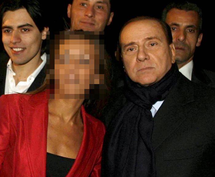 сильвио берлускони, политик, франческа