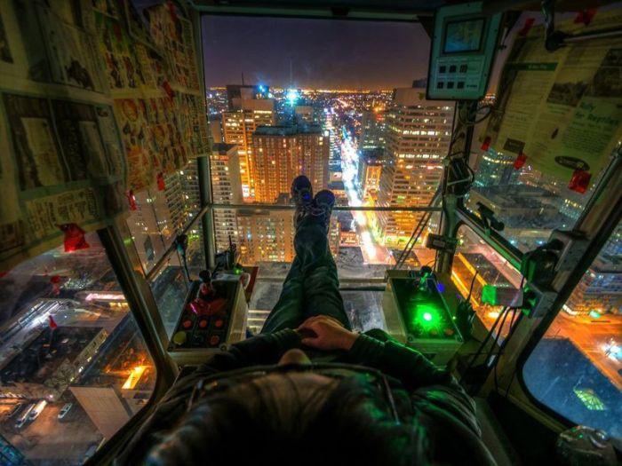 Бесплатный фотоприкол вид сверху, красота, крутая фотография, лифт, мегаполис