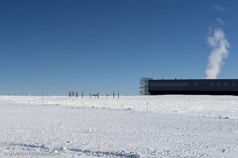 южный полюс,