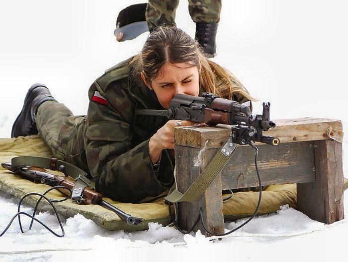Русские девушки в военной форме секси