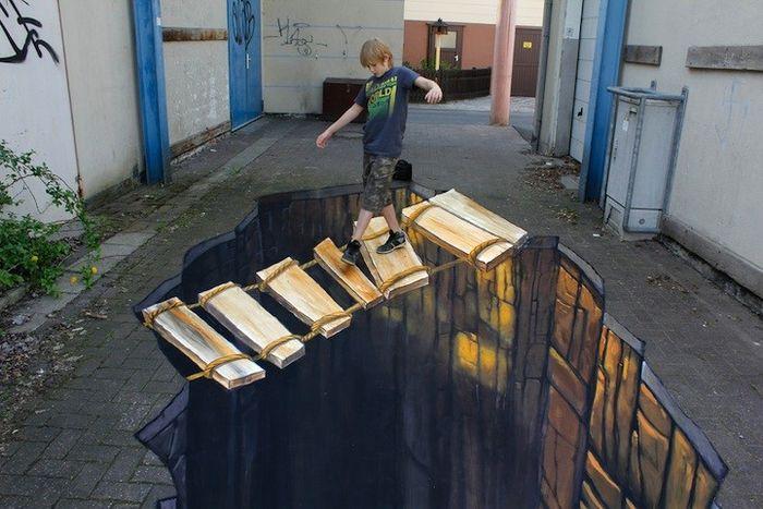 иллюзия, обман зрения, искусство