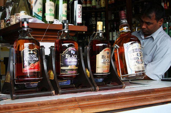 виски, алкоголь, бутылка