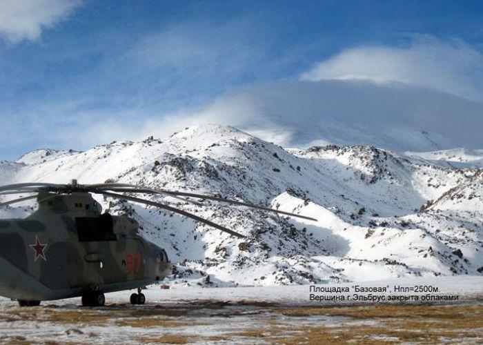 авиация, вертолет, гора, эльбрус, крушение, спасение, владимир хорев, герой россии, владимир путин
