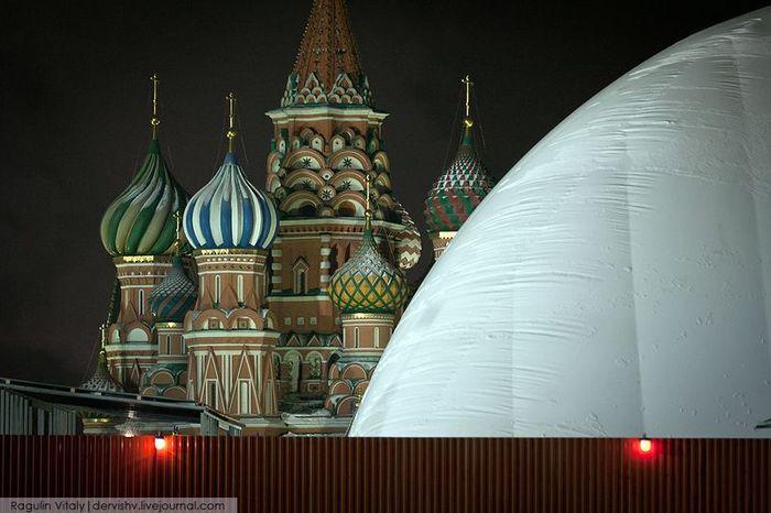 красная площадь, труп, ленин, купол, реконструкция