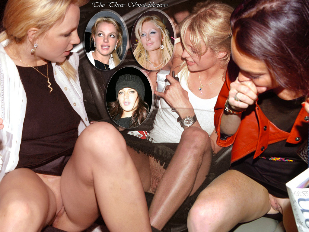 Britney lindsey and paris upskirt